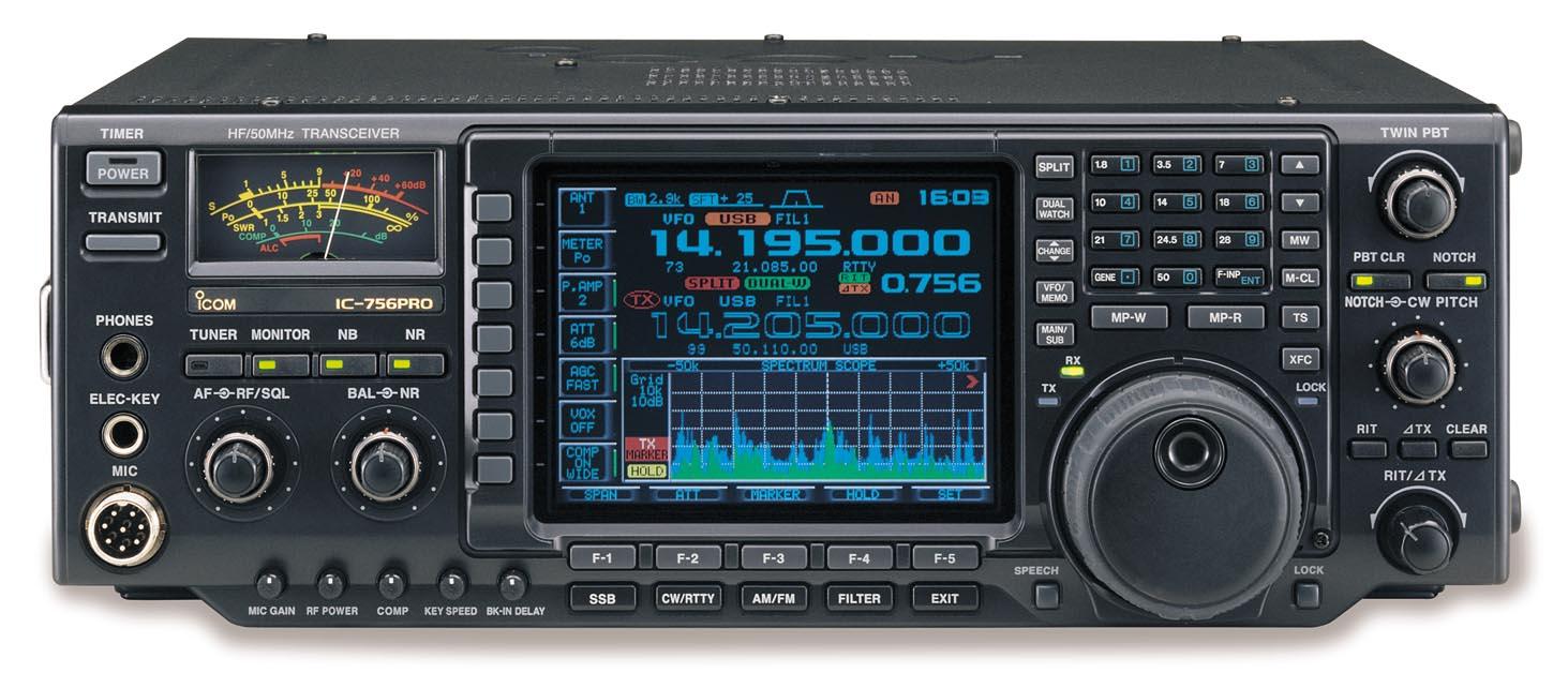 Radiopics database icom ic-756 pro ii.
